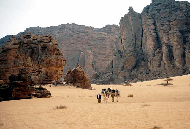 Algerian desert - Tassili National Park by magharebia Photo credit: Algerian desert - Tassili National Park by magharebia