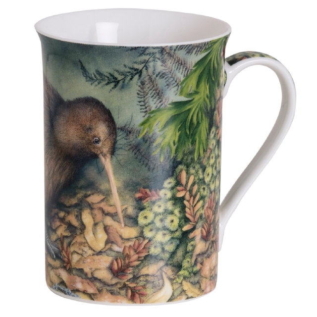 Jason Products mug, Brown Kiwi Dusk